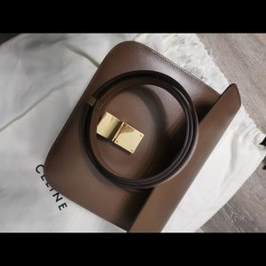 Authentic Celine box  with dust bag